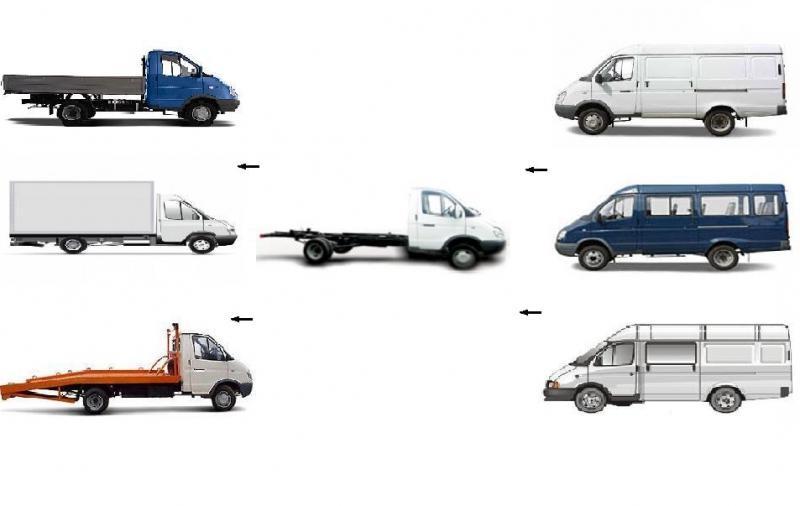 Переоборудование пассажирской Газели в грузовую